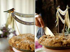 Thanksgiving Alphabet Pie Topper DIY