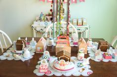 Friday Feature- Gingerbread House Party
