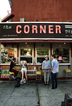 The Corner in New York / photo by Oddur Thorisson