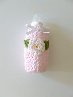 Crochet Baby Bottle Cover Handmade TT 9 Oz et 5 oz personnalisé option environ 255.14 g environ 141.75 g