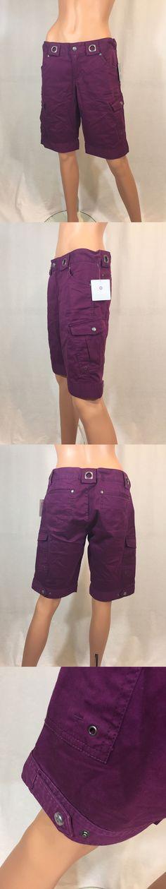 Shorts 11555: New Athleta Women S Cargo Shorts Size 8 -> BUY IT NOW ONLY: $34.99 on eBay!