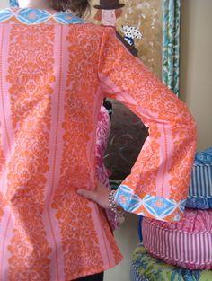 I love Jennifer Paganelli's fabrics and tunic patterns.