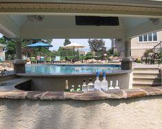 Pool Bar Design Ideas Pools Backyards Pinterest Pool bar