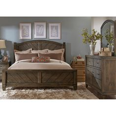 Modern Country Bedroom Set   Modern country bedrooms, Modern country ...