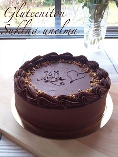 Sofialovescake: Gluteeniton suklaa unelma Cakes And More, Pudding, Desserts, Food, Eggs, Tailgate Desserts, Deserts, Custard Pudding, Essen