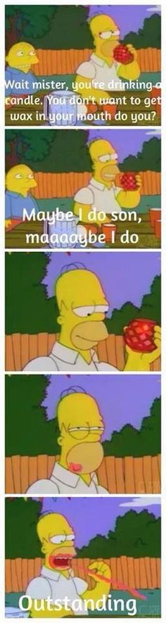 From The Simpsons Quotes/Memes on Facebook
