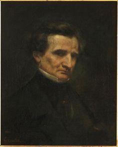 Gustave Courbet (1819-1877)  Hector Berlioz  1850  Musée d'Orsay, Paris