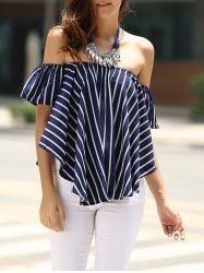 SHARE & Get it FREE | Sweet Off-The-Shoulder Classic Striped T-Shirt For WomenFor Fashion Lovers only:80,000+ Items • New Arrivals Daily • Affordable Casual to Chic for Every Occasion Join Sammydress: Get YOUR $50 NOW!