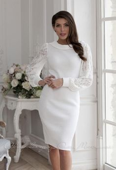 Beautiful Dresses, Nice Dresses, Casual Dresses, Fashion Dresses, Buy Dress, Knit Dress, Long Sleeve Gown, Lilac Dress, Feminine Dress