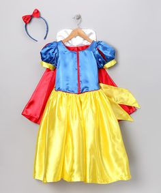 Take a look at this Blue & Red Princess Dress-Up Set - Infant, Toddler & Girls on zulily today!