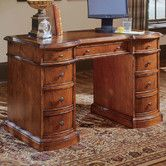 Found it at Wayfair - Belle Grove Executive Desk with Bow Front