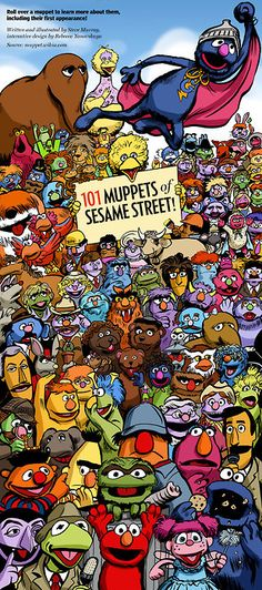 101 Muppets of Sesame Street