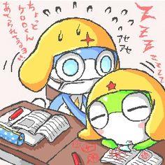 นี่ เคโรโระคุงการบ้านยังไม่เสร็จนะ