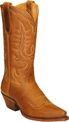Fantastic Star Boots Women's Tan Crazy Horse Cowgirl Boots