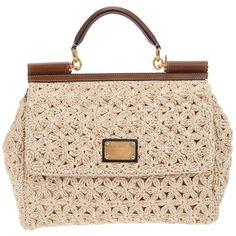 DOLCE & GABBANA 'Miss Sicily' handbag ($1,655) ❤ liked on Polyvore