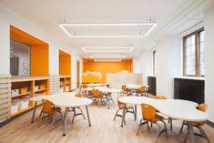 Taktik Design Revamps The Sainte-Anne Academy, an Elementary School in Dorval