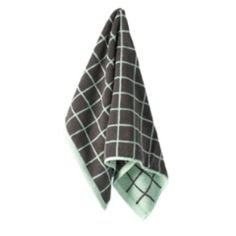 Aura Home Lattice Hand Towel - Mint/smoke - Pony Lane