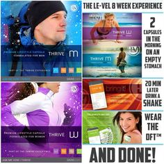 """It's not a fad.. It's a lifestyle change that YOU owe to YOURSELF to experience for at least 8 weeks. Your body deserves this. Your family deserves this. YOU DESERVE THIS! Quit telling yourself you don't have time (it's 20 minutes in the morning!), or you don't have money (customers AND promoters can Thrive for FREE) or that you eat """"healthy enough"""" so you don't need vitamins (we ALL have nutritional gaps). Quit making excuses. Get yourself informed! www.LivingByThrive.com…"""