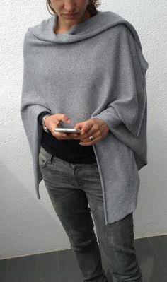 Cashmere Silk Serape by suttonsknitwear on Etsy