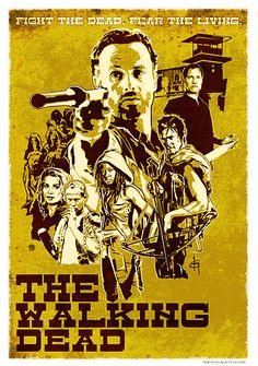 The Walking Dead Western Poster