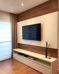 Top 50 Modern TV Stand Design Ideas For 2020 - Engineering Discoveries, tv wall design, Tv Stand Modern Design, Modern Tv Unit Designs, Tv Stand Designs, Living Room Tv Unit Designs, Simple Tv Unit Design, Tv Cabinet Design Modern, Tv Wall Design, Booth Design, Banner Design