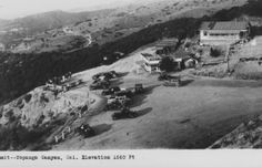 Summit of Topanga Canyon  '40