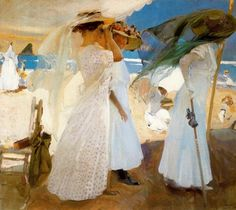 Joaquin Sorolla y Bastida, a Spanish painter born in Valencia, is well known for his paintings of people and landscapes. I love his work.
