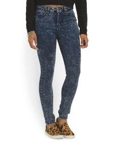 Juniors Cotton Blend High Waist Jean