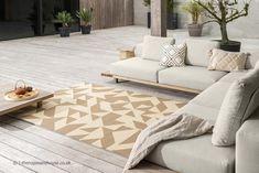 Geometric Lines, Indoor Outdoor Rugs, Habitats, Area Rugs, Modern, Super, Design, Home Decor, Outdoors