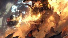 hearthstone art flame