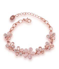 Aaishwarya Floral Bloom Bracelet: Buy Aaishwarya Floral Bloom Bracelet Online in India on Snapdeal