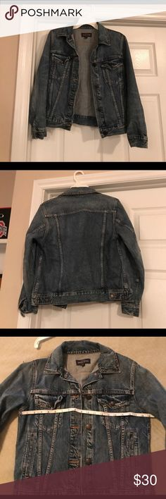 J. Crew Jean jacket Barely worn. Bought for a friend on poshmark but it is too small. Great condition! J. Crew Jackets & Coats Jean Jackets
