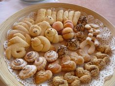 Traditional sweets in Istria, the formerly Italian part of Croatia