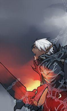 Fenris http://knight-enchanter.tumblr.com