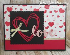 Stamping Lane: Creation Station Blog Hop - Love Is In The Air - SU - Sunshine Wishes Thinlet set, Perpetual Birthday - Valentine