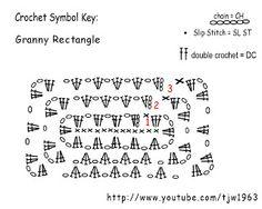 granny rectangle crochet