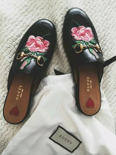 822a40b0820fd Nadire Atas on Gucci Mules   The shoe you ll need for fall - if you can  find them.