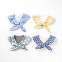 Cosas de Butterflies: Ideas para coser baberos molones