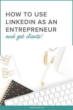 How to Use LinkedIn as an Entrepreneur — I know, I know. LinkedIn is a boring, stuffy site. A real snoozefest. Before you click away from this post, though, let me tell you why I love LinkedIn.Since leaving my 9-to-5 job in 2005, I've been running a profitable, sustainable business as a creative. As you know, that's not easy to do. And you know what's been the No. 1 reason for my success? For helping me find high-paying clients with very little effort? LinkedIn.
