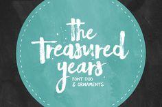 The Treasured Years Font Duo + Bonus by Set Sail Studios on Creative Market