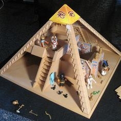 1000+ images about pyramids on Pinterest | Playmobil, Toys ...
