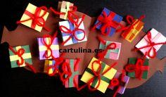 http://cartulina.es/tarjeta-navidad-carta-saco-de-papa-noel/ Tarjeta saco de San Nicolás para Navidad