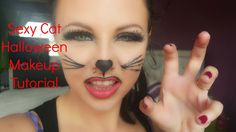 Sexy Cat Halloween Makeup Tutorial