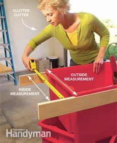 Build this simple, slide-in storage system for your garage