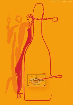 - Veuve Clicquot, one of the most recognizable champagne brands, recently partnered French artists Florence Deygas, a suave addition to their long st.