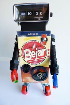 Pitarque Robots art toy-12