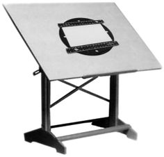 Drafting Table - $240 from www.CartoonColor.com - This is on my Christmas list!