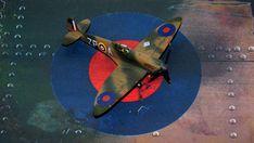 Supermarine Spitfire Mk.1a, P9953, ZP-A, No. 74 Squadron, Sq.-Ldr. D.F. Sailor Malan, RAF Battle of Britain, summer 1940 Science Fiction, Supermarine Spitfire, Battle Of Britain, Ldr, Scale Models, Art Reference, Airplane, Sailor, Creative