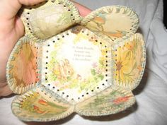 Baskets from Recycled Greeting Cards