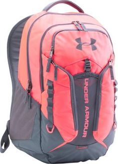 Under Armour Contender Backpack Pink Chroma/Stealth Gray/Stealth Gray - via eBags.com!